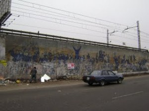 Mural en memoria de los Héroes de la Batalla de San Juan