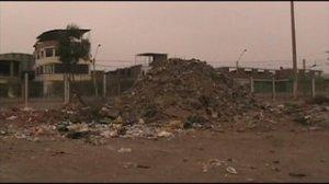 escombros + basura