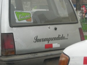 """""""Incomprendido"""" - Tico"""