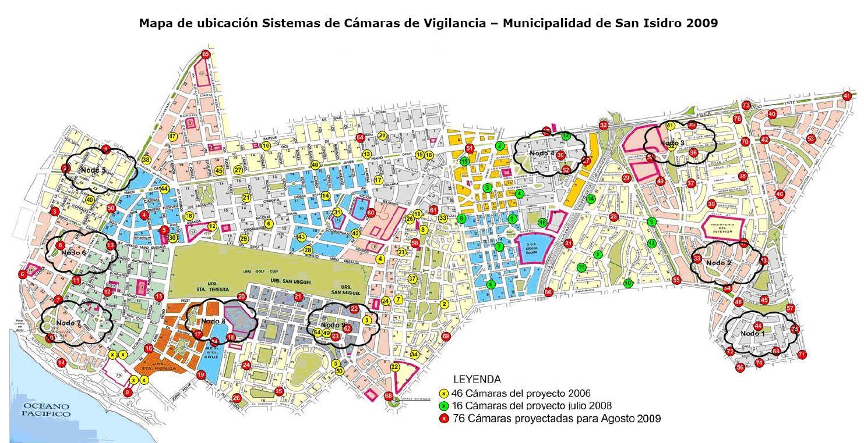 Lima Map San Isidro