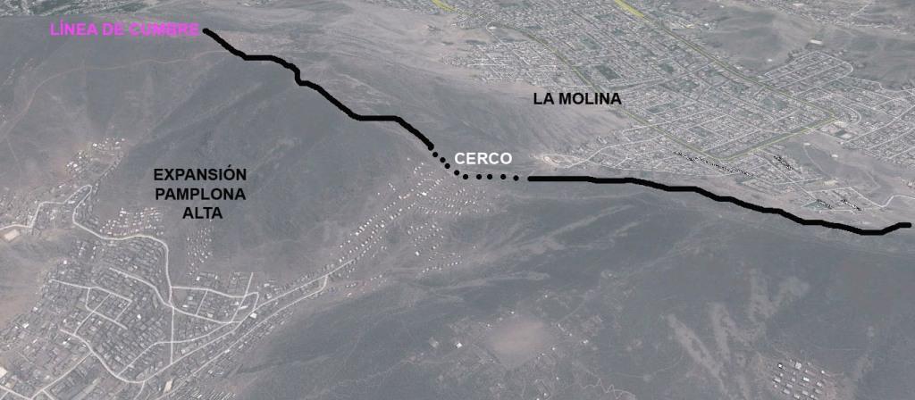 San Juan de Miraflores y La Molina: desencuentro en altura (Con G Earth)