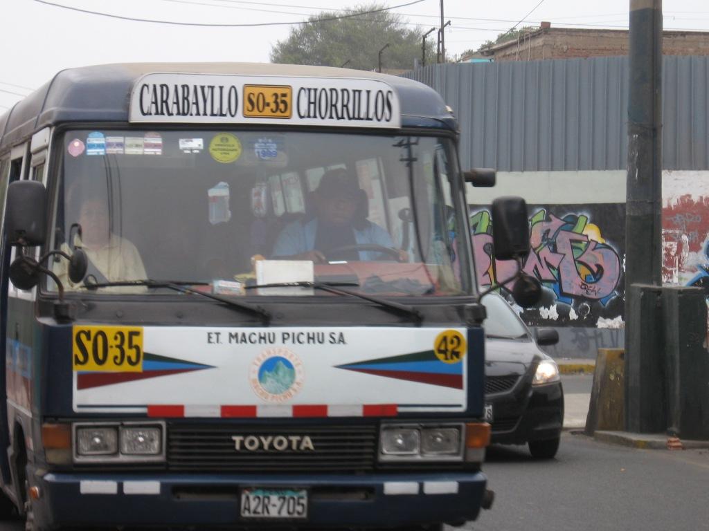 Un ejemplar de la Machu Picchu. La imagen no corresponde a la unidad/fecha del incidente que narro aquí (tomada de salvemosbarranco.blog.com)